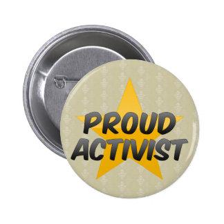 Proud Activist Button