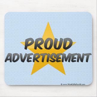 Proud Advertisement Mouse Pad