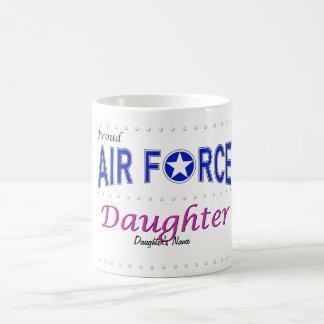 Proud Air Force Daughter Mug
