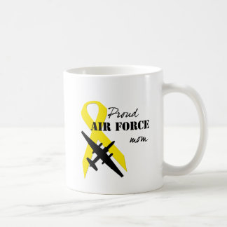 Proud Air Force Mom Classic White Coffee Mug