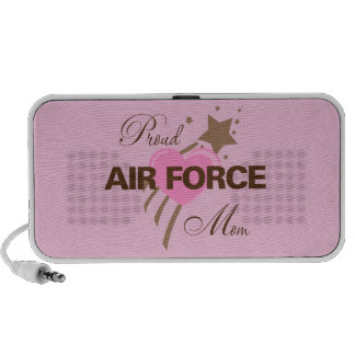 Proud Air Force Mom Heart Mp3 Speaker