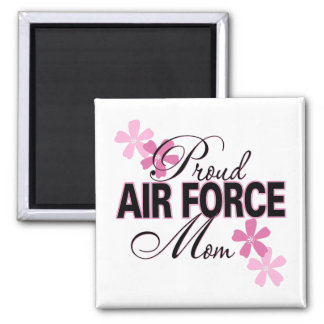 Proud Air Force Mom Refrigerator Magnet