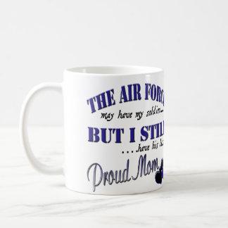 Proud Airforce Mom Coffee Mug