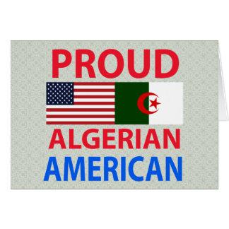 Proud Algerian American Card