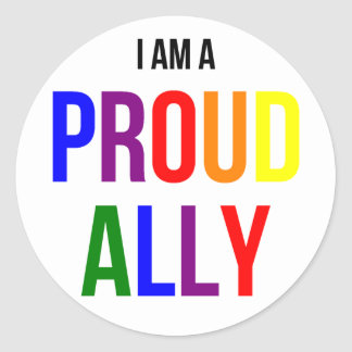 Proud Ally Sticker