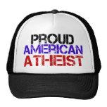 Proud American Atheist Trucker Hats