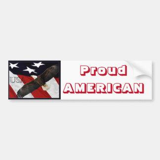 Proud American Bumper Sticker
