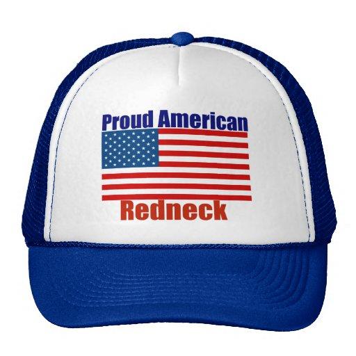 Proud American Redneck Mesh Hat