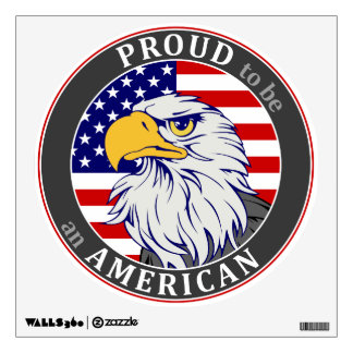 Proud American Wall Decal