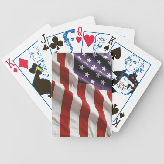 Proud and Patriotic USA Flag Card Deck