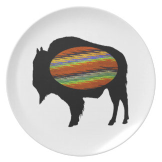 PROUD AND STRONG DINNER PLATE