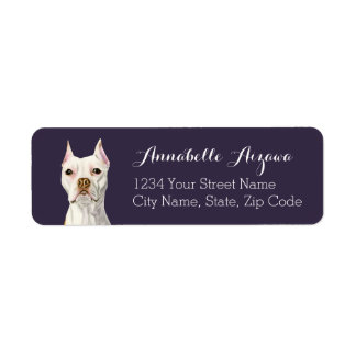 Proud and Tall Return Address Label