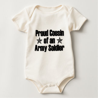 Proud Army Cousin Baby Bodysuit