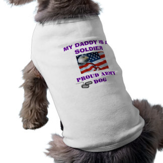 PROUD ARMY DOG SHIRT