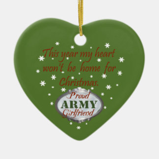 Proud Army Girlfriend Ornament