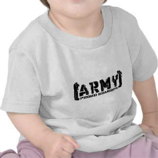 Proud Army Grandpa - Tattered Tee Shirt