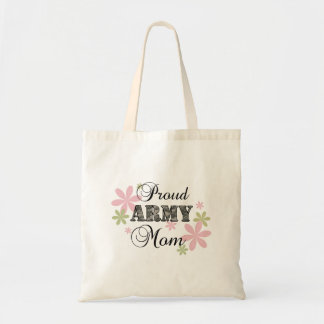 Proud Army Mom [fl c] Tote Bags