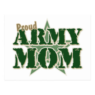 Proud Army Mom Postcard