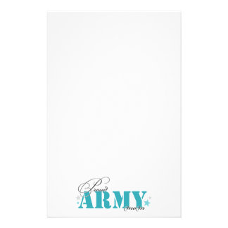 Proud Army Mom Stationery