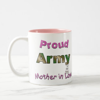 Proud Army Mother in Law Mug