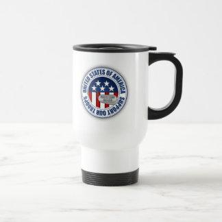Proud Army Ranger 15 Oz Stainless Steel Travel Mug