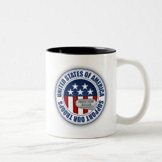 Proud Army Ranger Two-Tone Coffee Mug