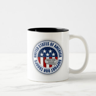 Proud Army Ranger Two-Tone Mug