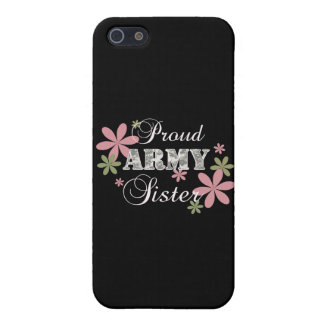 Proud Army Sister [fl c] Case For iPhone 5/5S