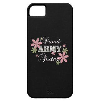 Proud Army Sister [fl c] iPhone 5 Cases