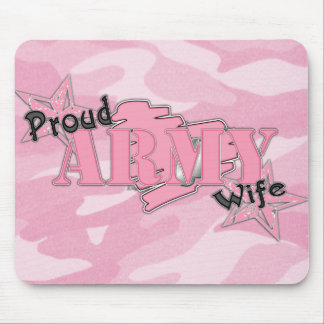 Proud Army Wife Mousepad