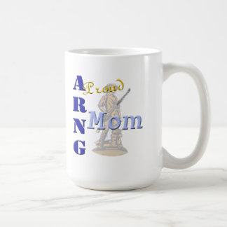 Proud ARNG Mom Classic White Coffee Mug