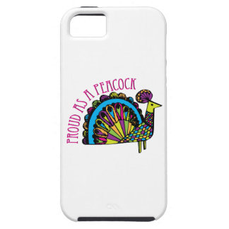 Proud as a Peacock iPhone 5 Covers