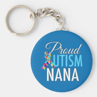 Proud Autism Nana Keychain