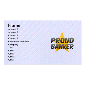 Proud Banker Business Card