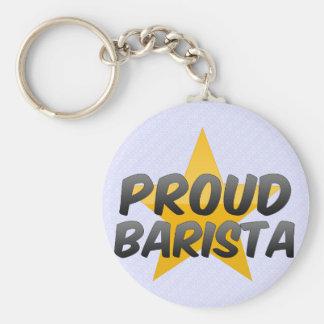 Proud Barista Keychains