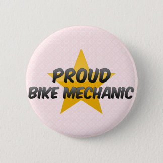 Proud Bike Mechanic 2 Inch Round Button