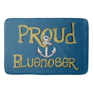 Proud Bluenoser Nova Scotia anchor Bathroom mat