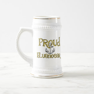 Proud Bluenoser Nova Scotia anchor beer stein mug