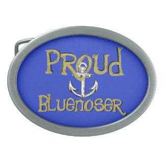 Proud Bluenoser Nova Scotia anchor  belt buckle