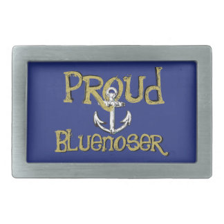 Proud Bluenoser Nova Scotia anchor  belt buckle