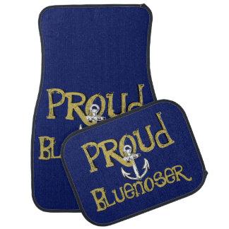 Proud Bluenoser Nova Scotia anchor    Car Mats