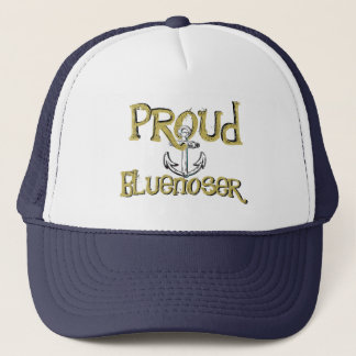 Proud Bluenoser Nova Scotia anchor hat