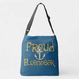 Proud Bluenoser Nova Scotia anchor shoulder bag