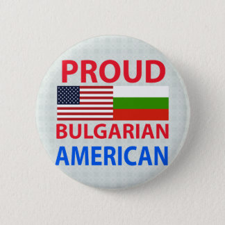 Proud Bulgarian American 2 Inch Round Button