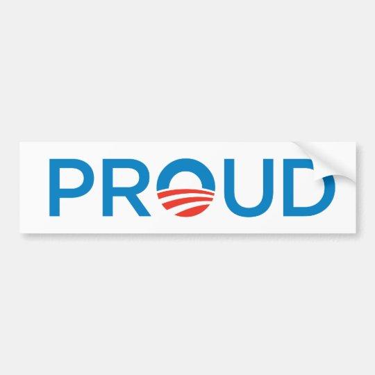proud bumper sticker