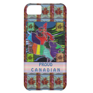 Proud Canadian Case For iPhone 5C