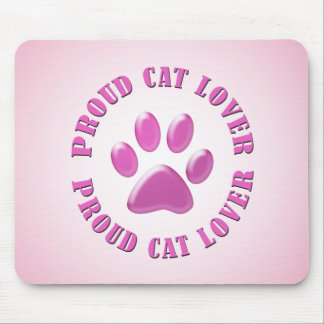 Proud Cat Lover Mouse Pad