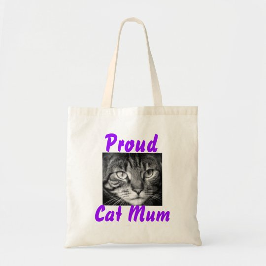 Proud Cat Mum Tote Bag