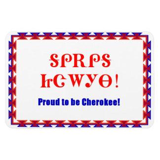 Proud Cherokee 4 x 6 Premium Flexi Magnet