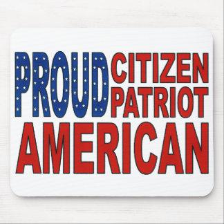 Proud Citizen, Patriot, American Mouse Pad